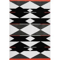 tappeto Arte Espina BROADWAY 500 BIANCO NERO ROSSO