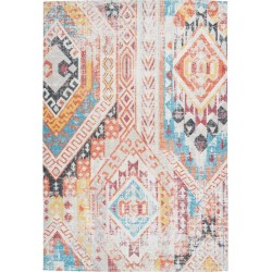 tappeto Arte Espina INDIANA 200 MULTICOLOR ARANCIONE
