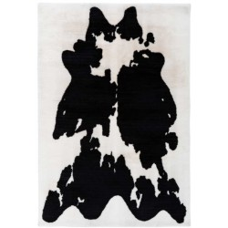 tappeto Arte Espina RABBIT ANIMAL 500 BIANCO NERO