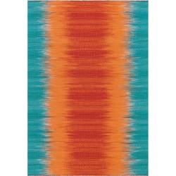 tappeto Arte Espina SUNSET 8070 ARANCIONE BLU